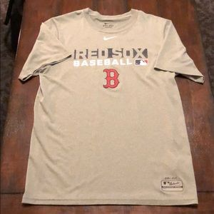 Nike Dri Fit Boston Red Sox Shirt